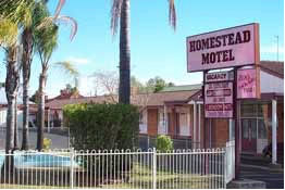 The Homestead Motor Inn - Accommodation BNB