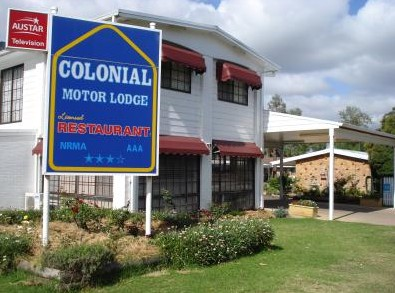 Colonial Motor Lodge - Accommodation BNB