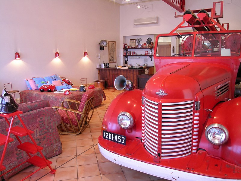 The Fire Station Inn - Loggia Suite - Accommodation BNB