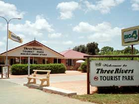 Mundubbera Three Rivers Tourist Park - Accommodation BNB