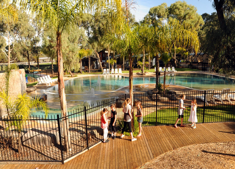 BIG4 Renmark Riverfront Caravan Park - Accommodation BNB