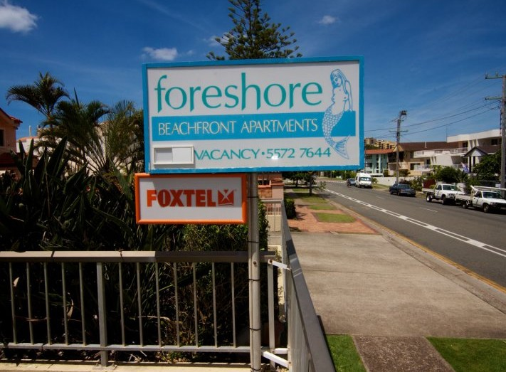 Foreshore Apartments Mermaid Beach - Accommodation BNB