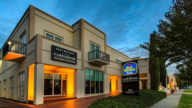 BEST WESTERN PLUS The Carrington - Accommodation BNB
