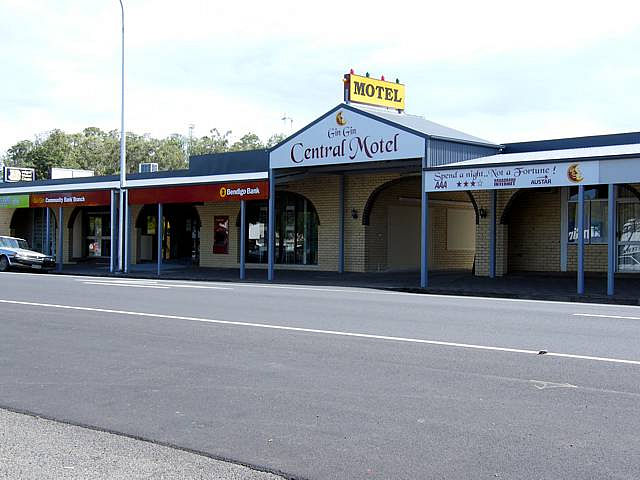 Gin Gin Central Motel - Accommodation BNB