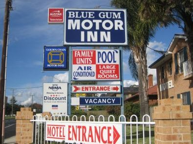 Blue Gum Motor Inn - Accommodation BNB