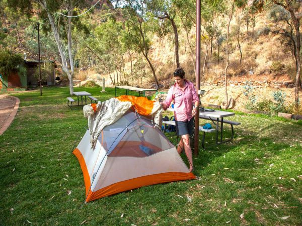 Standley Chasm Angkerle Camping - Accommodation BNB