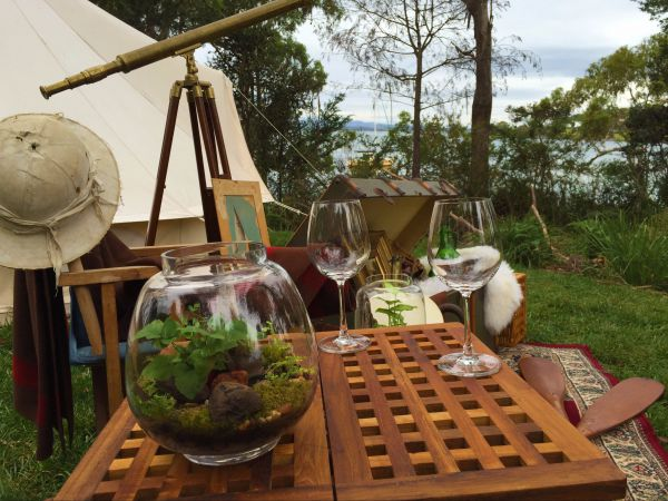 Wingtons Glamping Clarence Point - Accommodation BNB