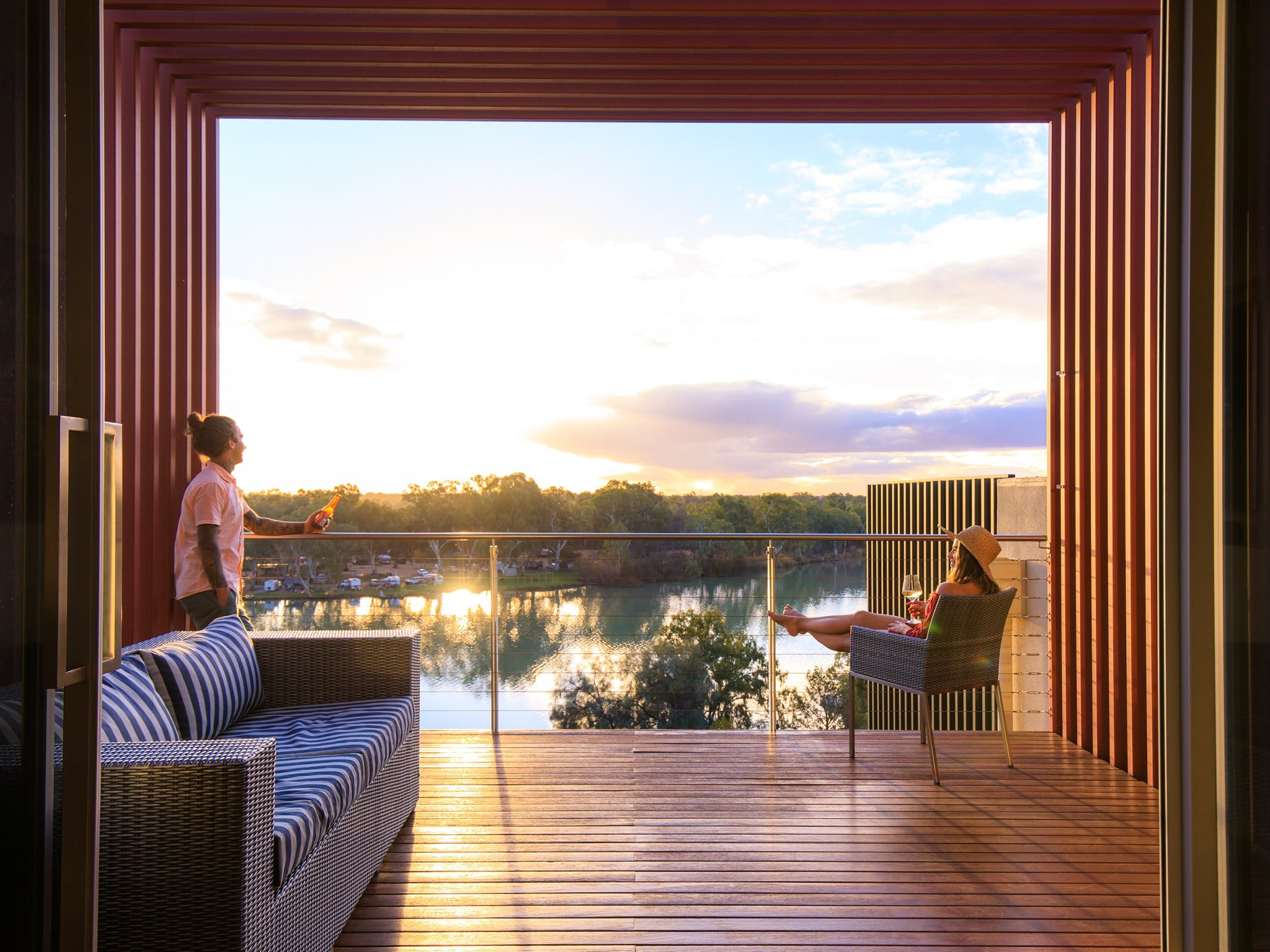 The Frames - Luxury Riverland Accommodation - Accommodation BNB