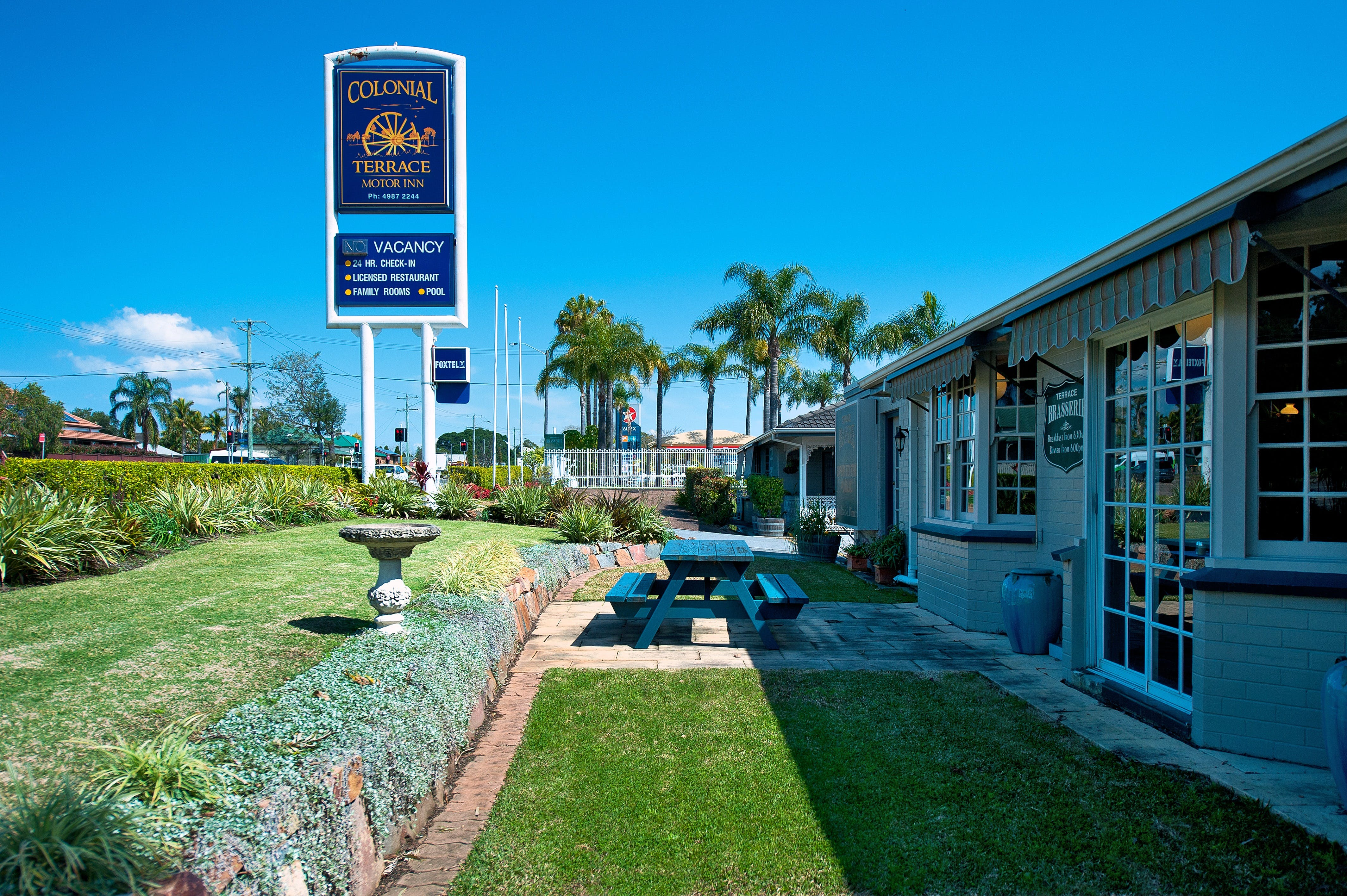 Colonial Terrace Motor Inn and Terrace Brasserie - Accommodation BNB