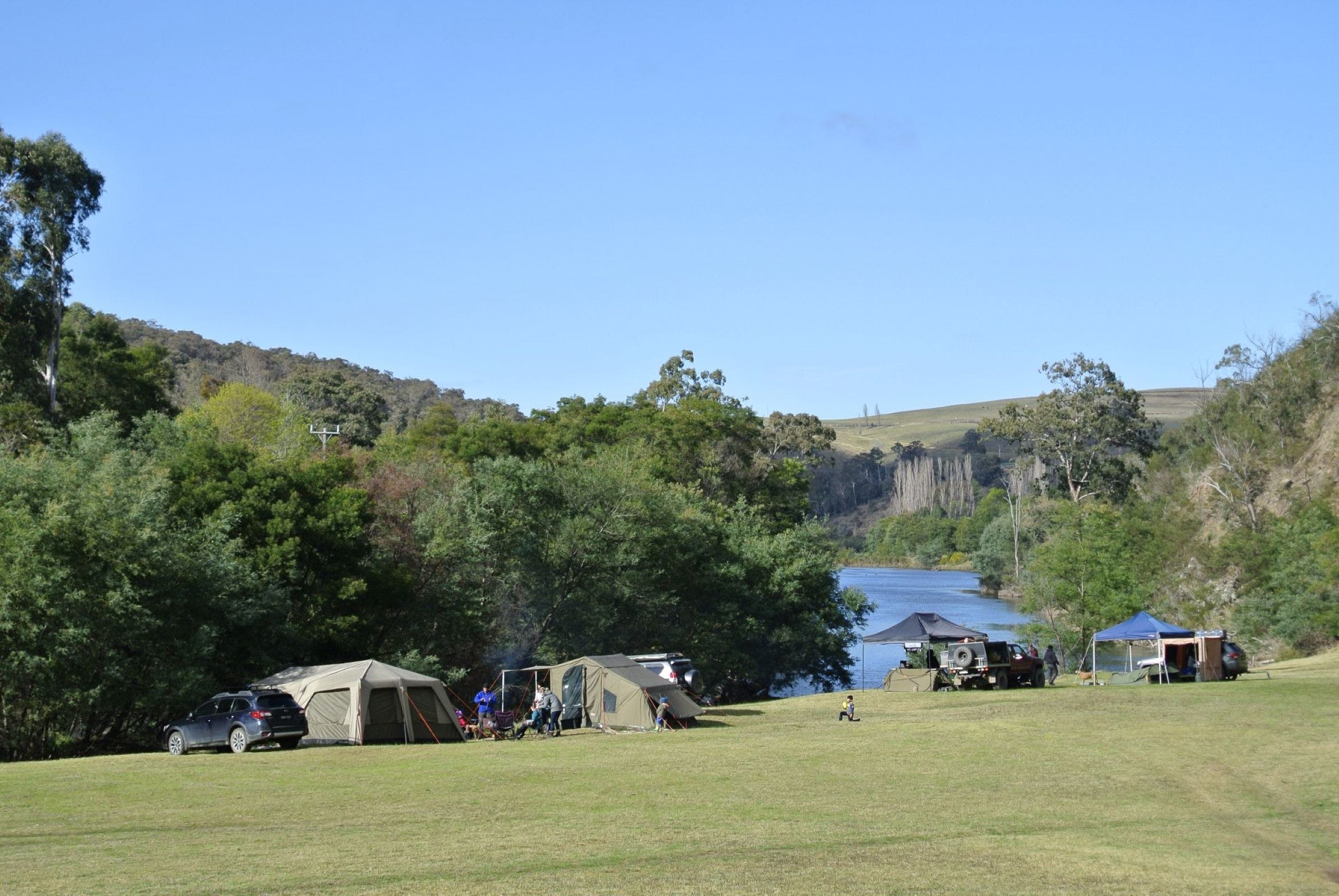 Montana on the Macalister Campground  Caravan Park - Accommodation BNB