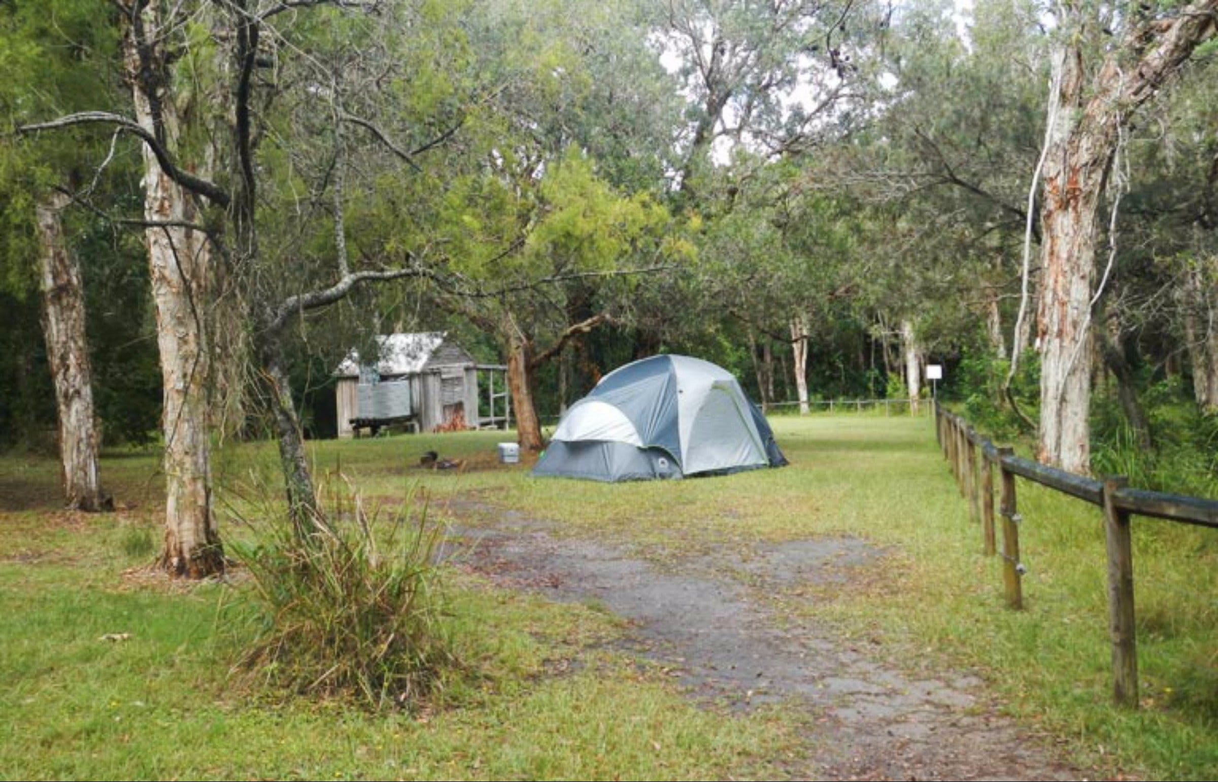 Kylies Hut walk-in campground - Accommodation BNB