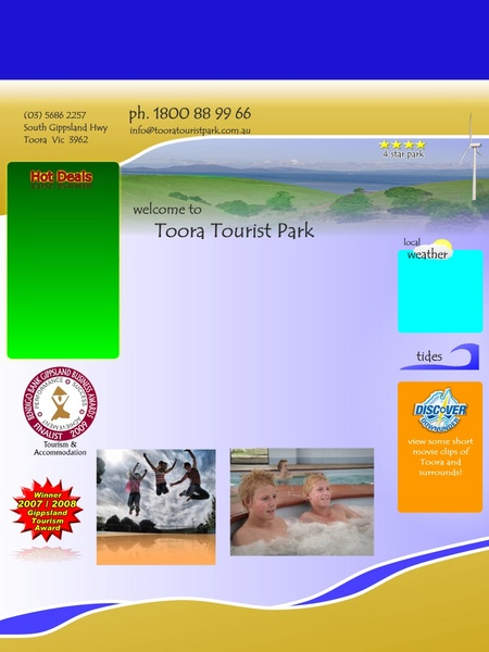 Toora Tourist Park - Accommodation BNB