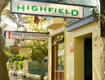 Highfield Private Hotel - Accommodation BNB
