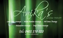 Anikas Massage Therapy - Accommodation BNB