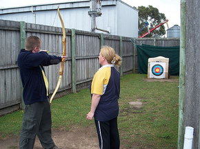 Bairnsdale Archery Mini Golf  Games Park - Accommodation BNB