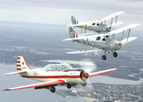 Vintage Tiger Moth Joy Flights - Accommodation BNB