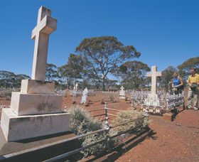 Coolgardie Cemetery - Accommodation BNB