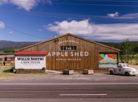 The Apple Shed Tasmania - Accommodation BNB