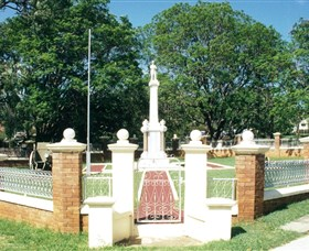 Boonah War Memorial and Memorial Park - Accommodation BNB
