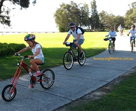 Boomerang Bikes Central Coast Bike Tours