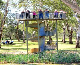 Darling and Murray River Junction and Viewing Tower - Accommodation BNB