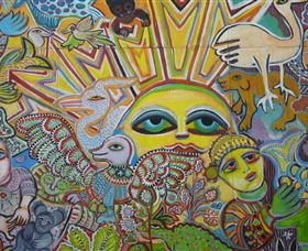 The Painting of Life by Mirka Mora - Accommodation BNB