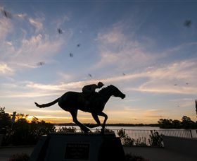 Black Caviar Statue - Accommodation BNB
