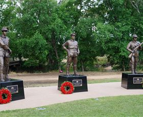 VC Memorial Park - Honouring Our Heroes - Accommodation BNB