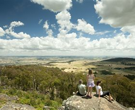 Mt Wombat lookout - Accommodation BNB