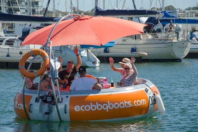 Self-Drive BBQ Boat Hire Mandurah - Group of 7 - 10 people - Accommodation BNB