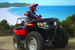 Half-Day Guided ATV Exploration Tour from Coles Bay - Accommodation BNB