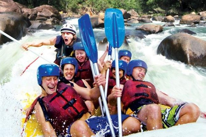 Tully River Full-Day White Water Rafting from Cairns including Lunch - Accommodation BNB