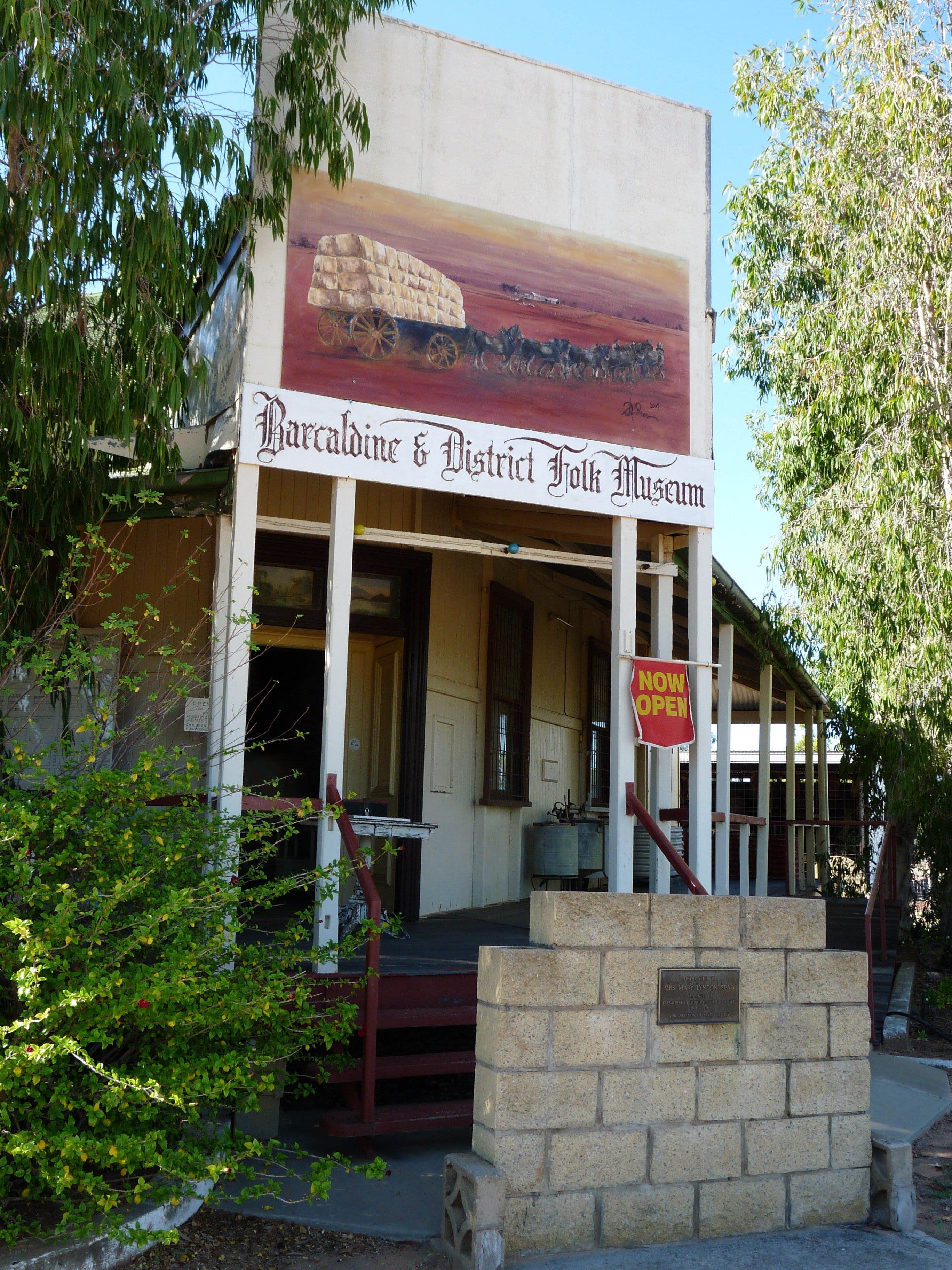 Barcaldine and District Historical Museum - Accommodation BNB
