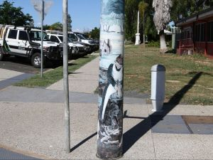 Capella Light Pole Murals - Accommodation BNB
