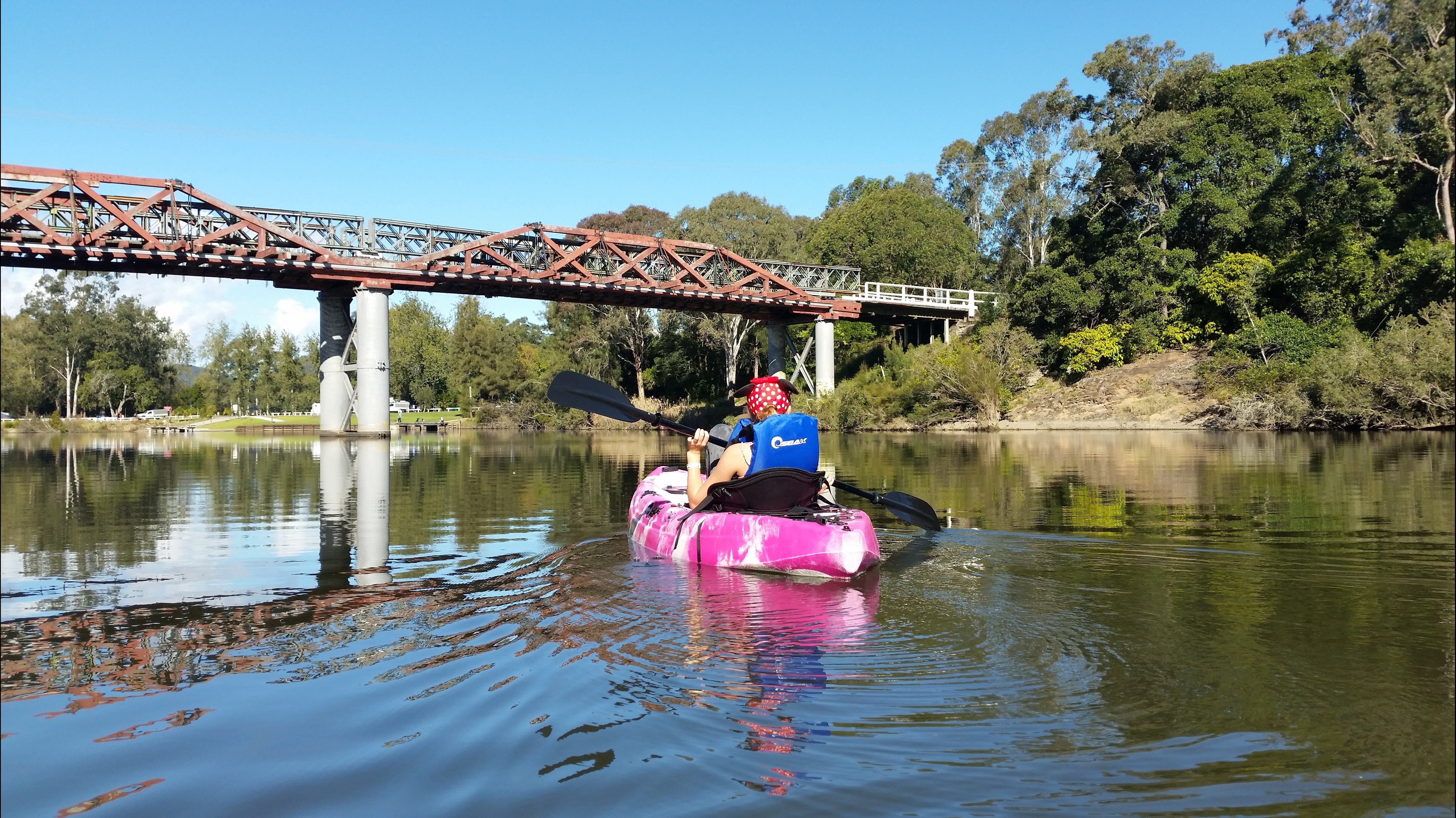 Canoeing at Clarence Town - Accommodation BNB