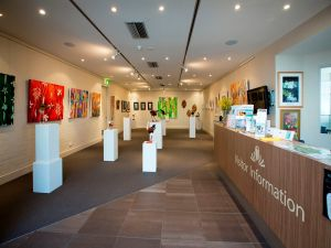 Australian National Botanic Gardens Visitor Centre Gallery - Accommodation BNB