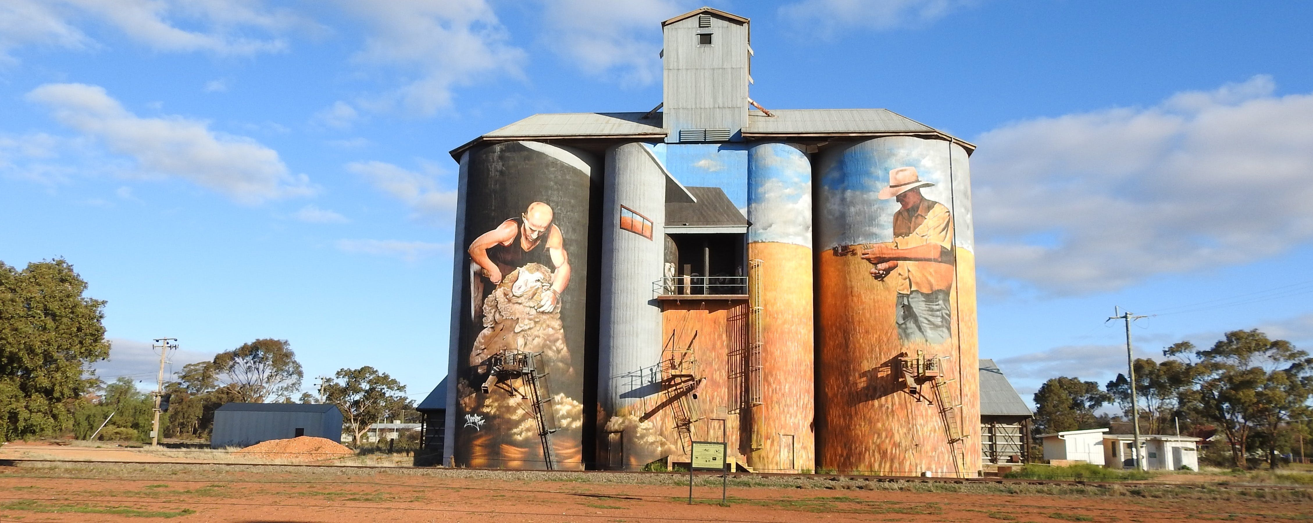 Riverina Outdoor Art Trail - Accommodation BNB
