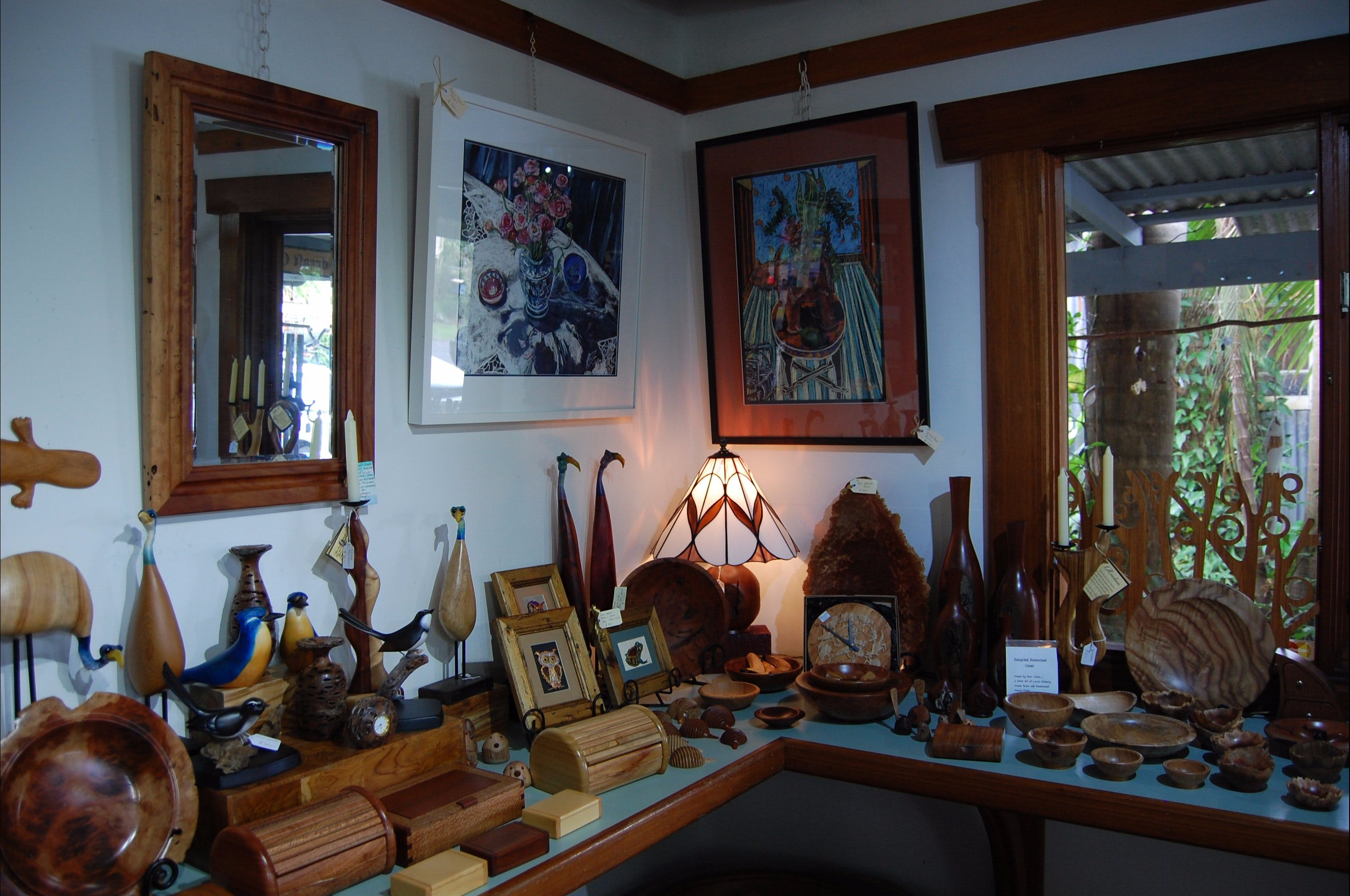 The Woodcraft Gallery - Accommodation BNB
