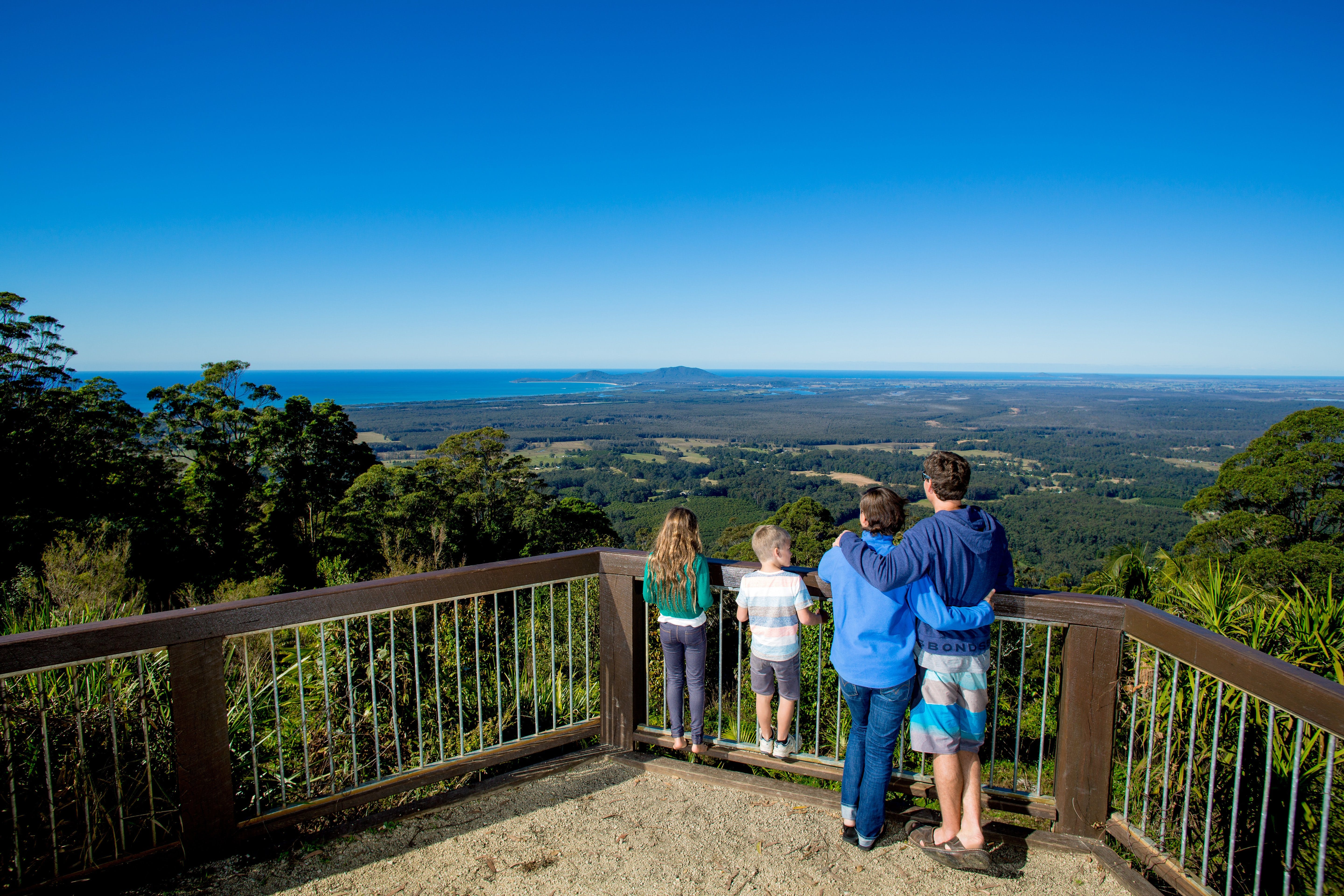 Mount Yarrahapinni Lookout - Accommodation BNB
