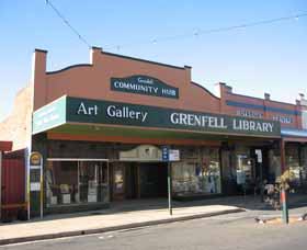 Grenfell Art Gallery - Accommodation BNB
