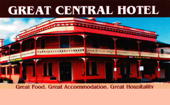 Great Central Hotel - Accommodation BNB