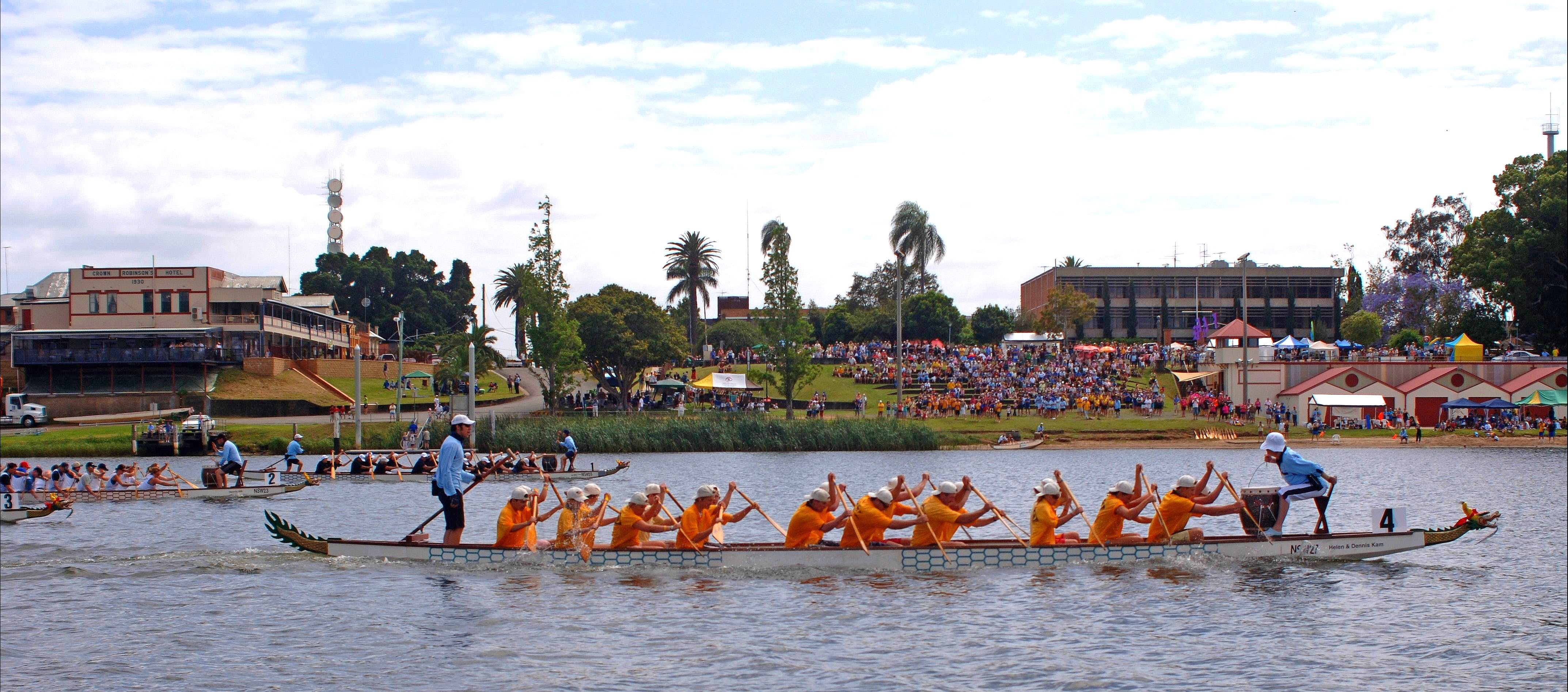 Jacaranda Dragon Boat Races - Accommodation BNB