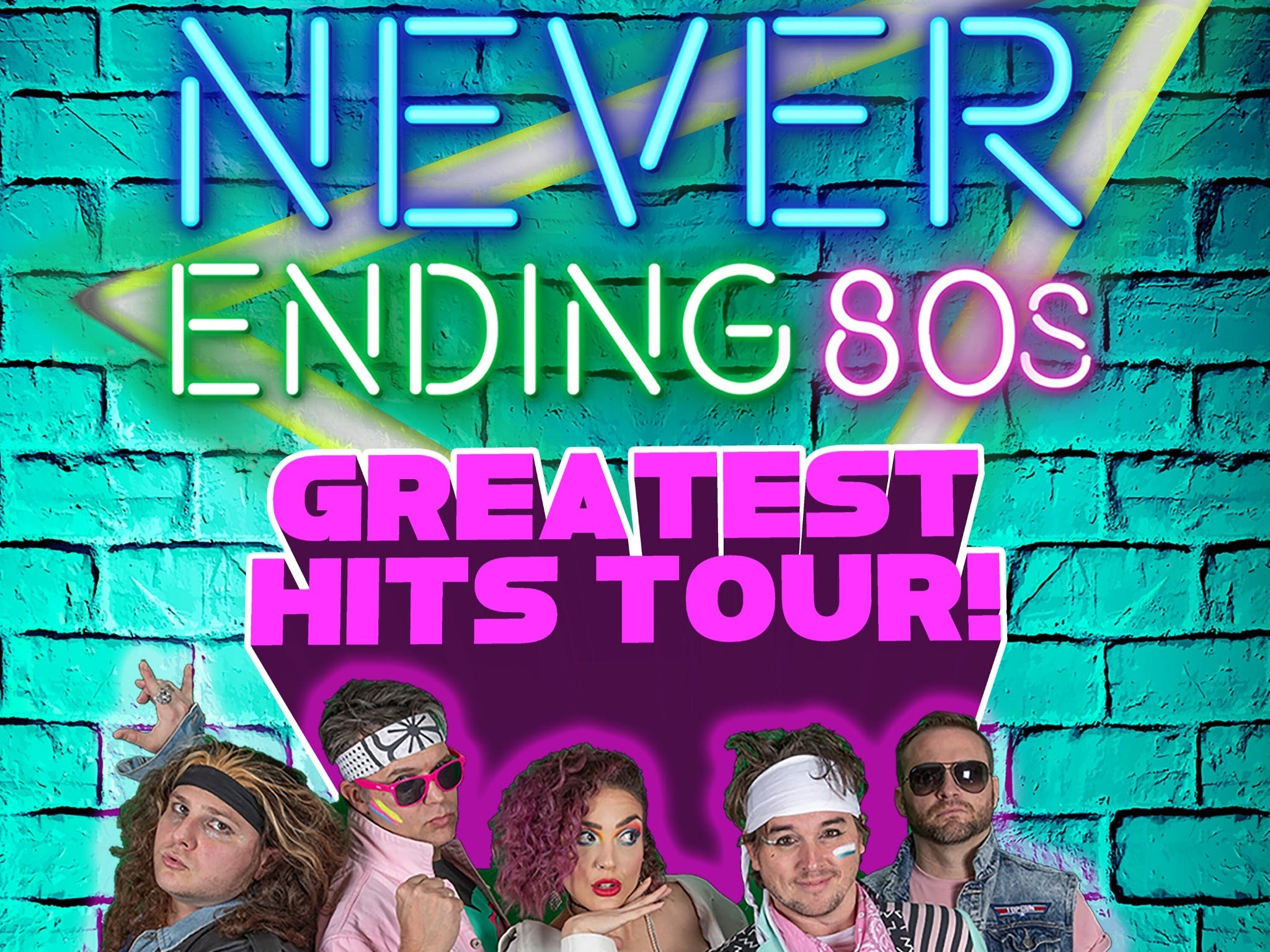 Never Ending 80s - The Greatest Hits Tour - Accommodation BNB