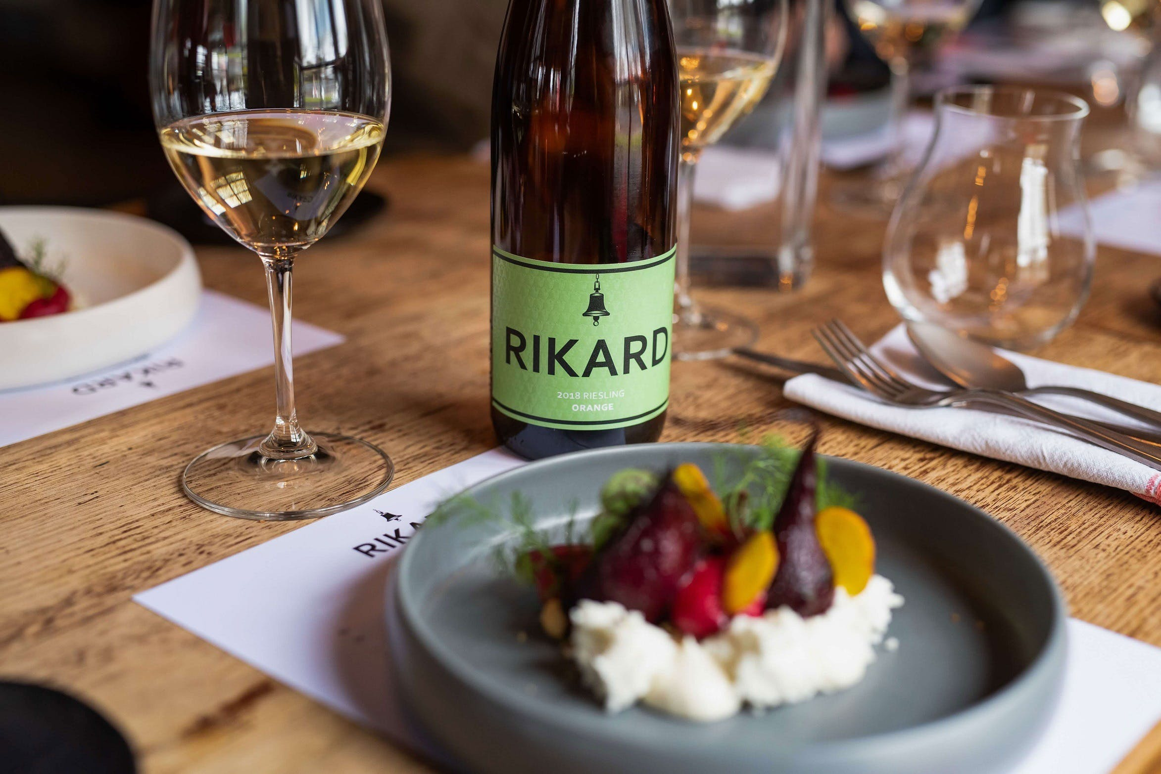 RIKARD Wines at Charred - Accommodation BNB