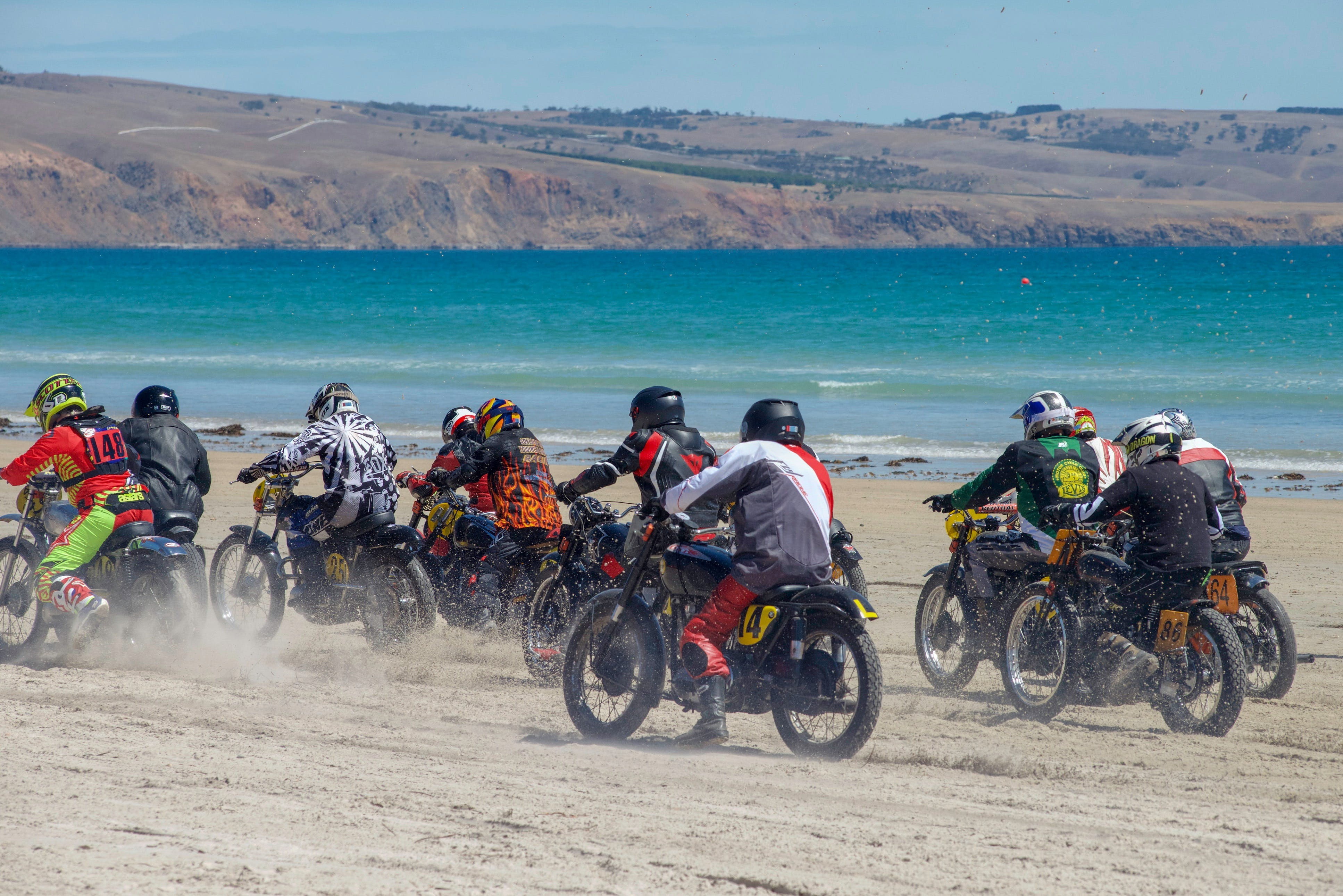 Sellicks Beach Historic Motorcycle Races - Accommodation BNB