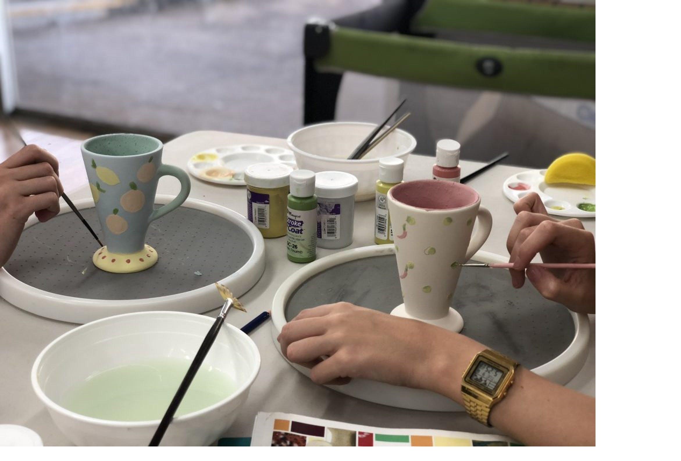 Ceramic Painting Class - Accommodation BNB