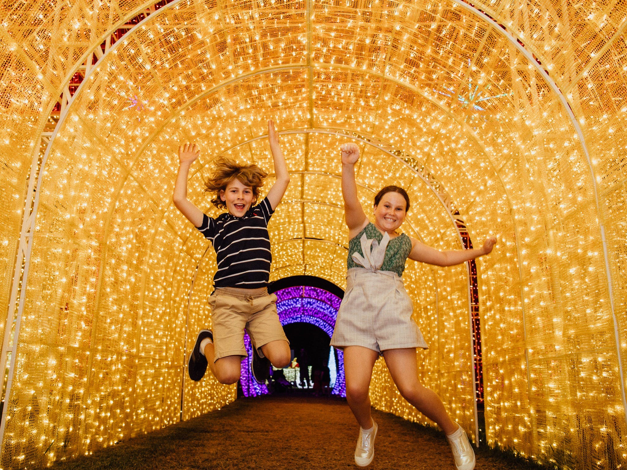 Christmas Lights Spectacular New Year's Eve at Hunter Valley Gardens - Accommodation BNB