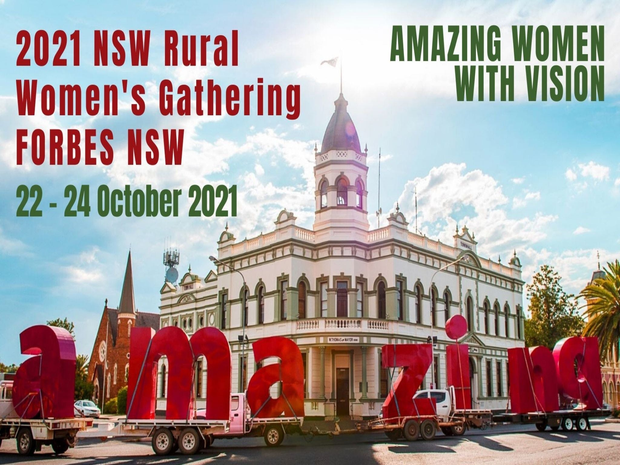 Forbes NSW Rural Women's Gathering - Accommodation BNB