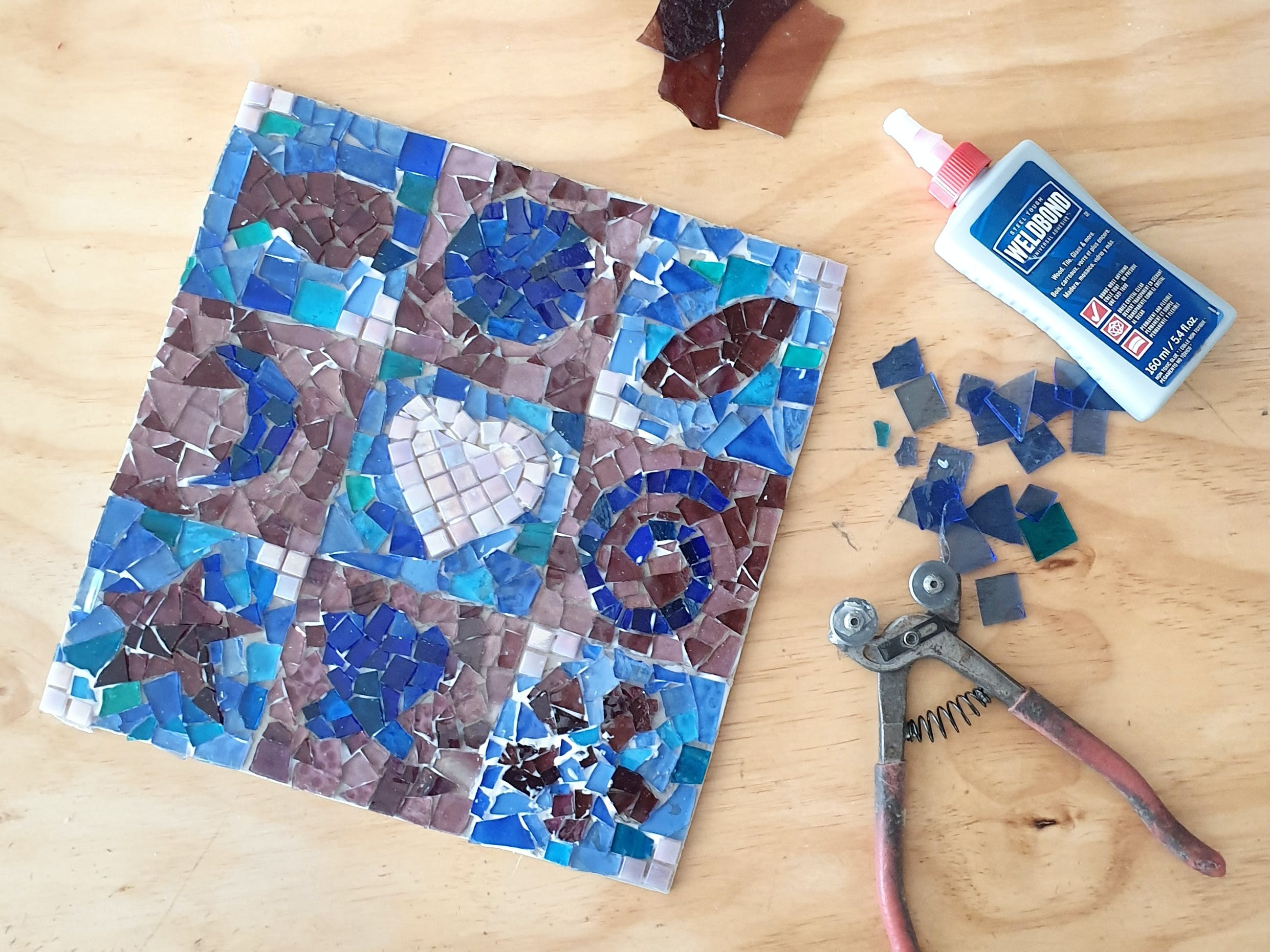 Intro to Mosaics Weekend with Leadlight By Ettore - Accommodation BNB