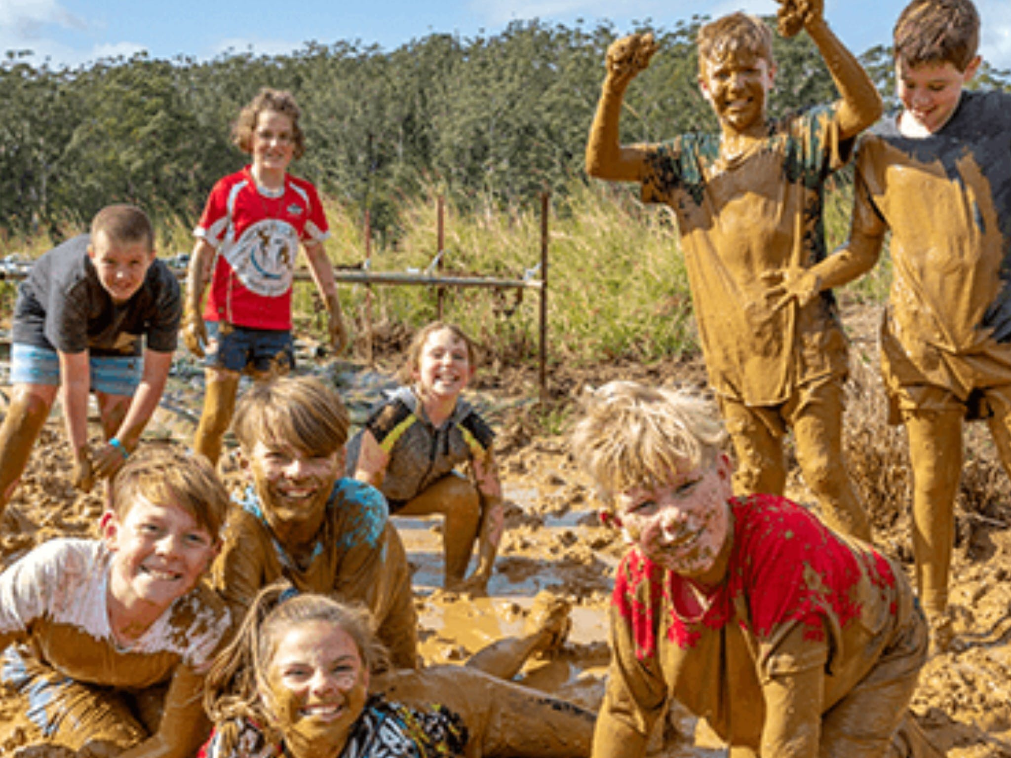 Mini Muddies Obstacle Challenge at Bunnamagoo Estate - Accommodation BNB